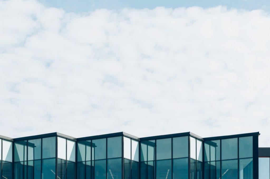 Residência com Cobertura de vidro