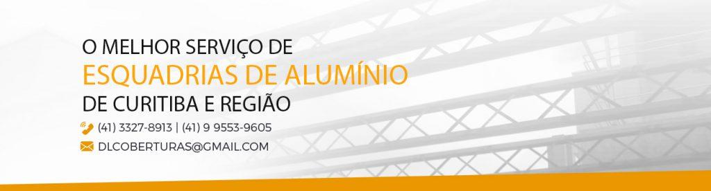 Serviço de Esquadria de Alumínio em Curitiba