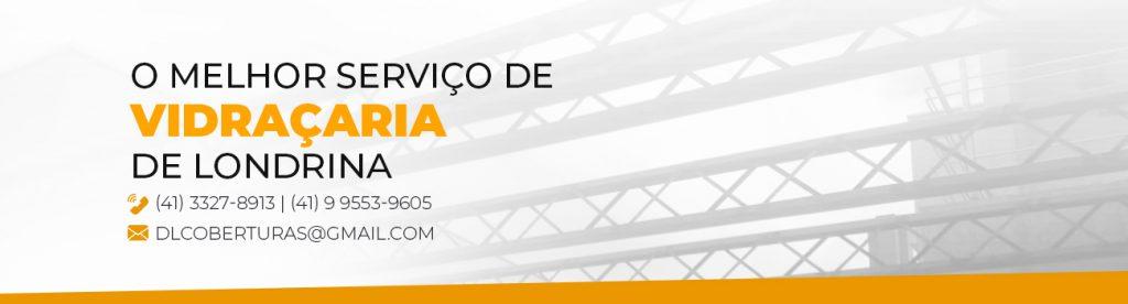Serviço de Vidraçaria em Londrina